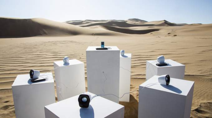 Toto sonará eternamente en el desierto africano